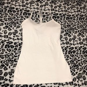 Lululemon White tank top
